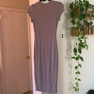 Naked Wardrobe dress and Zara jumpsuit